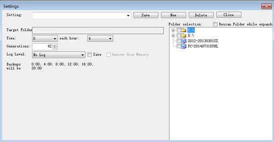 backupmill easy backup utility